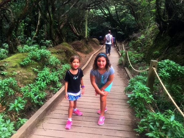 Parque rural Anaga tenerife con niños