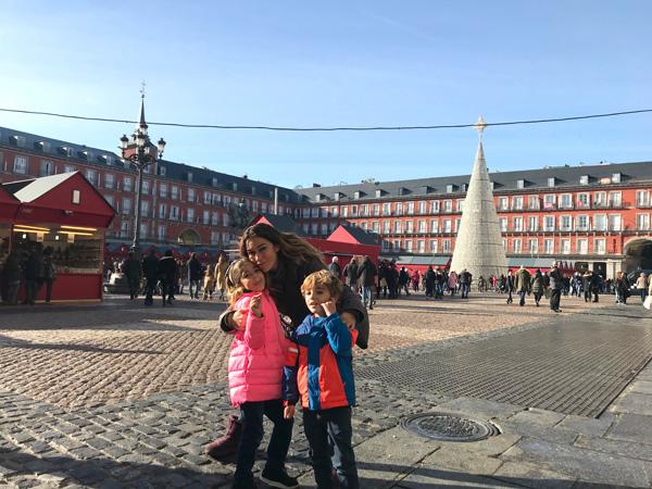 plaza-mayor navidad con niños madrid