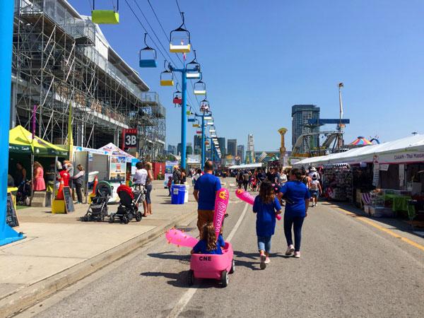 Toronto con niños Canadian national Exhibition