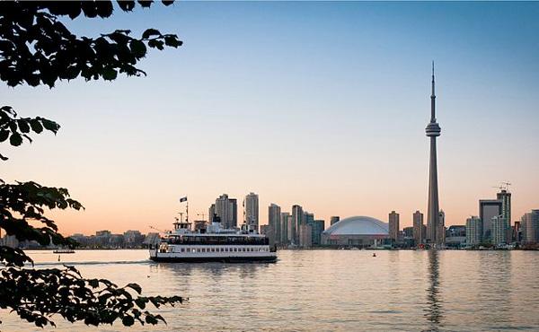 Toronto con niños Islands