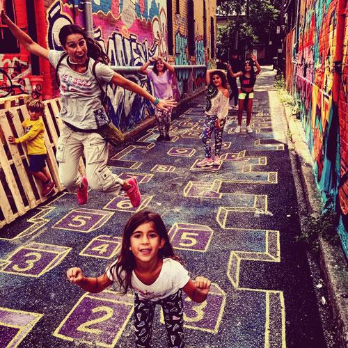 Toronto con niños Kensington market