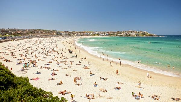 bondi-beach australia con niños