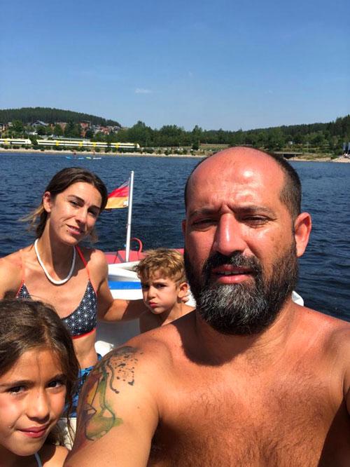 lagos selva negra con niños