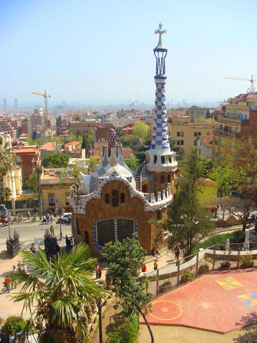Barcelona con niños parque guell
