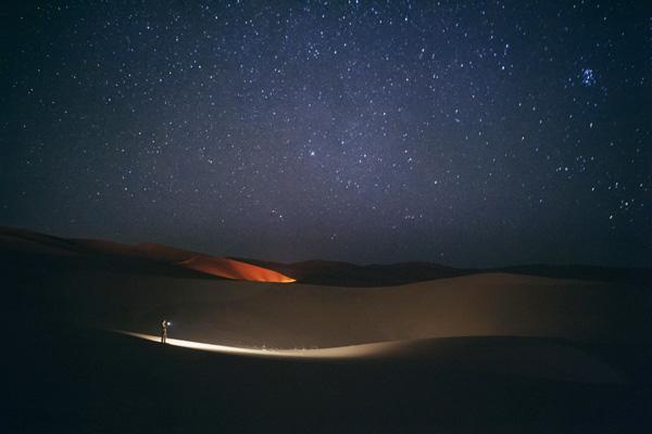 marrakech desierto noche